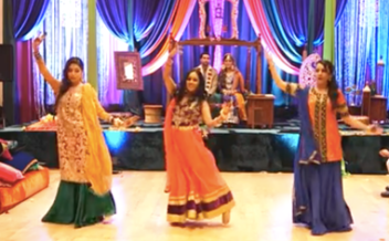 Fun Dance Performed for Bride & Groom